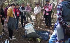 東日本電信電話株式会社 様 自然体験型環境研修