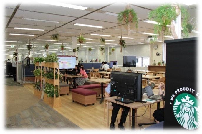 光触媒機能付き人工植物の導入事例2