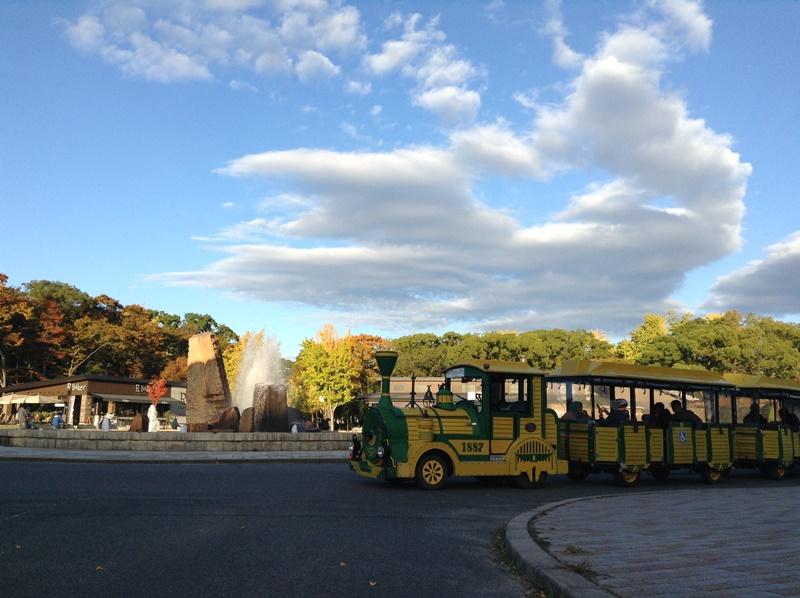 大阪城公園 トレインカー