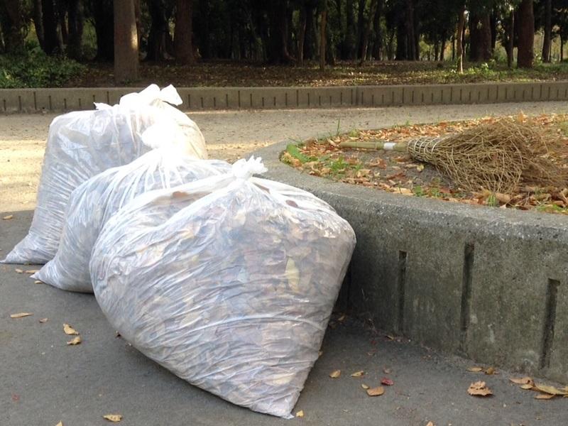 大阪城ボランティア清掃
