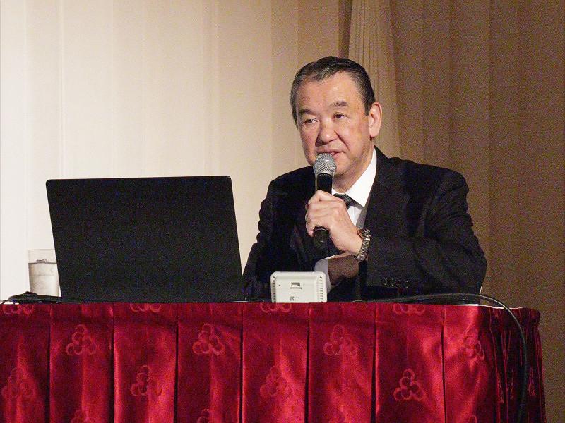 松井オフィス代表 松井忠三様